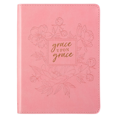 Grace Upon Grace Handy-sized LuxLeather Journal - John 1:16