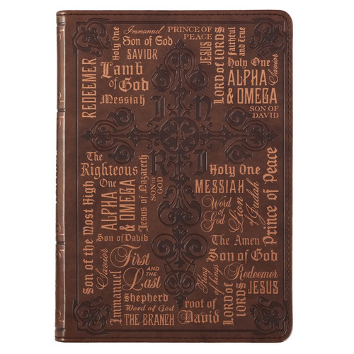 Names of Jesus Classic Luxleather Journal