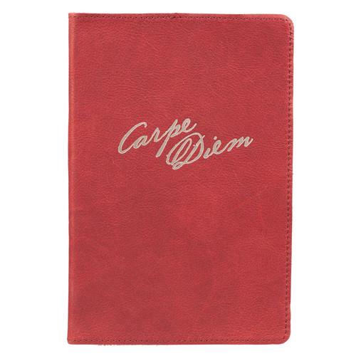 Carpe Diem Full Grain Leather Journal