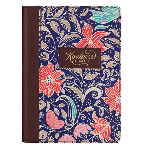 Kindness Matters Quarter-bound Faux Leather Classic Journal