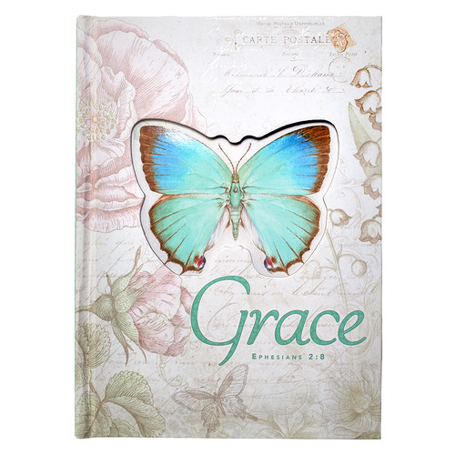 Butterfly Blessings Die Cut Hardcover Journal