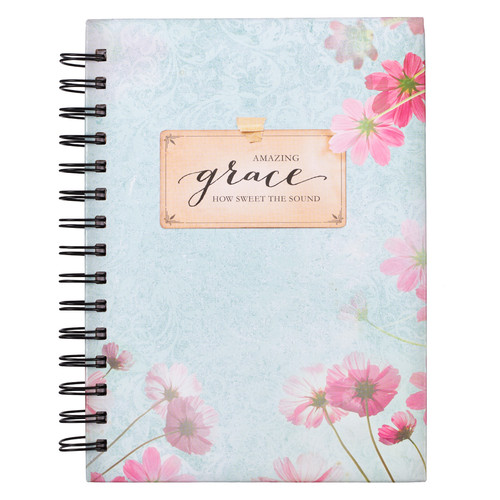Amazing Grace Wirebound Journal