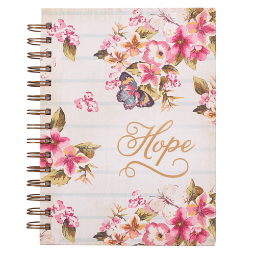 Hope - Romans 5:13 Wirebound Journal