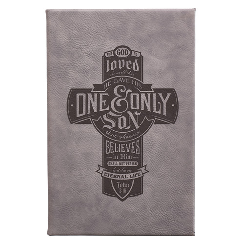 One & Only Son - John 3:16 Laser Engraved Journal