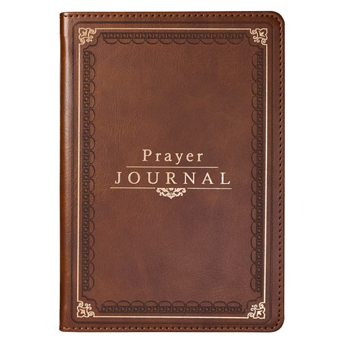 The Lords Prayer LuxLeather Prayer Journal - Matthew 6: 9-13