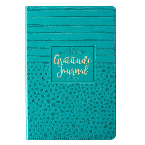 Gratitude Journal for Moms - Hardcover Luxleather