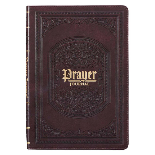 The LORDs Prayer Dark Brown Prompted Prayer Journal