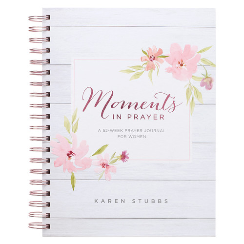 Moments in Prayer Wirebound Prompted Prayer Journal