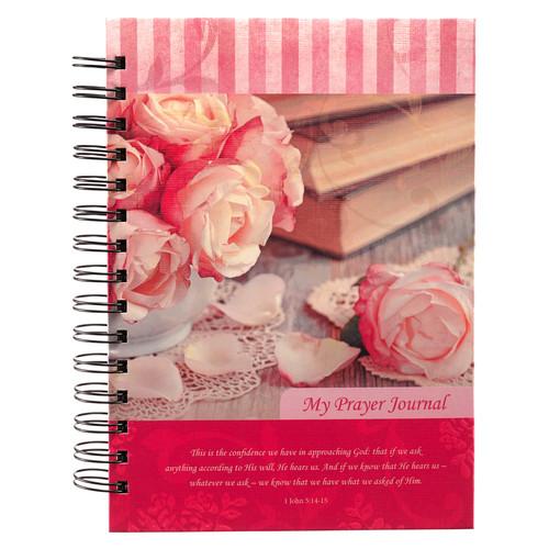 My Prayer Journal Hardcover Wirebound Journal