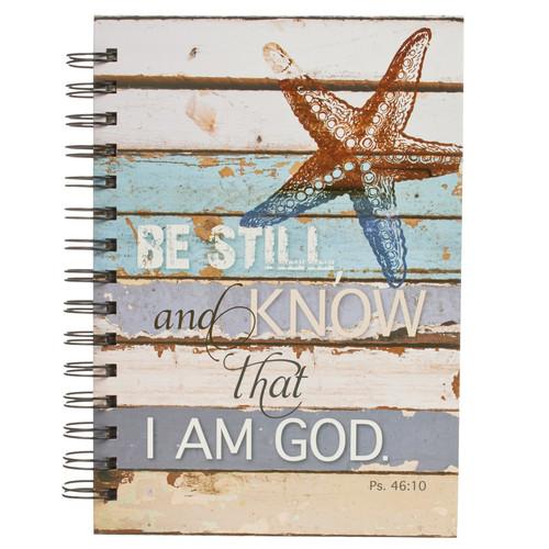 Be Still Large Hardcover Wirebound Journal