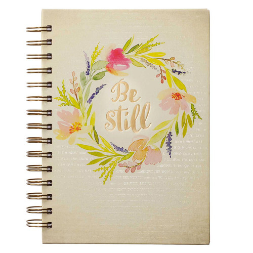 Be Still Hardcover Wirebound - Psalm 46:10 Journal