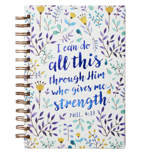 I Can Do All This - Phil 4:13 Wirebound Journal