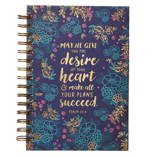 Desire of Your Heart - Psalm 20:4 Wirebound Journal