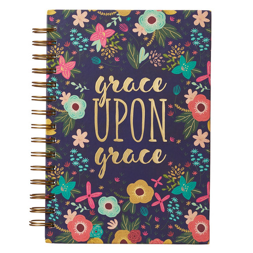 Grace Upon Grace Wirebound Journal