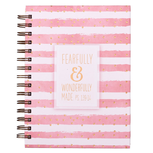 Fearfully & Wonderfully Made - Psalm 139:14 Wirebound Journal