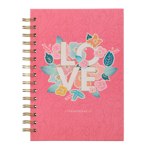 Love Large Wirebound Journal - 1 Corinthians 13
