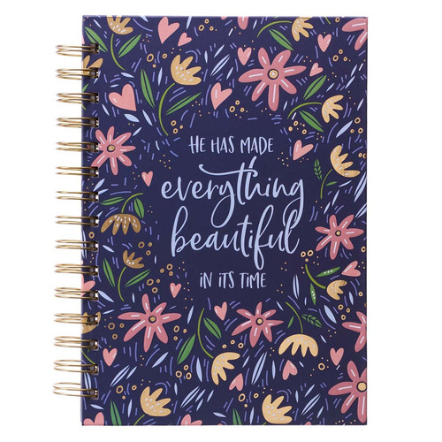 Everything Beautiful Large Wirebound Journal - Ecclesiastes 3:11