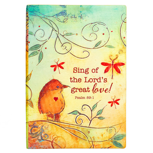 Sing of the Lords Love Silken-Printed Flexcover Journal
