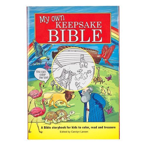 My Own Keepsake Bible: Childrens Coloring Bible