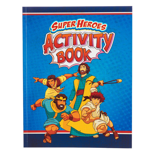 Super Hero's Activity Book - Bible Fun