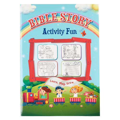 Bible Story Activity Fun Book