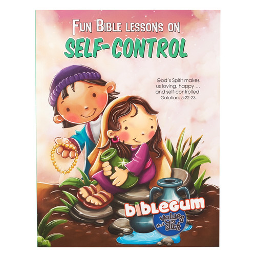 Fun Bible Lessons on Self-Control from the bibleGum Series