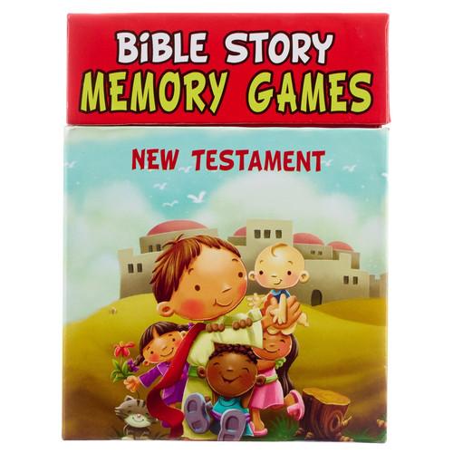 New Testament Bible Story Memory Games Boxed Set