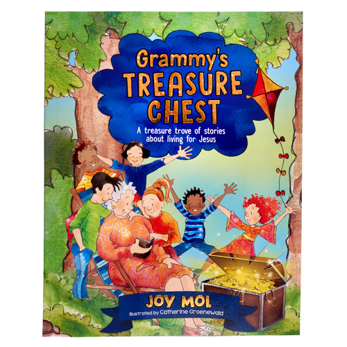 Grammys Treasure Chest Gift Book for Kids