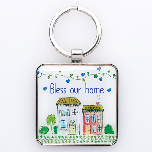 Keyring: Bless our Home - Joshua 24:15