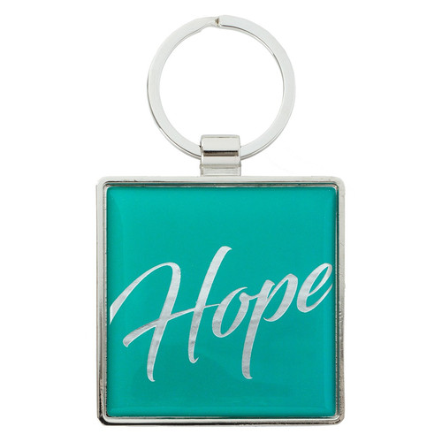 Hope - Psalm 146:5 Metal Keyring