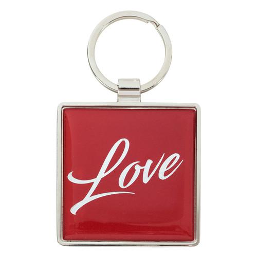 Love - 1 Corinthians 16:14 Metal Keyring