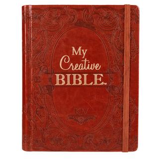 Journaling Bible in Brown Hardcover KJV My Creative Bible