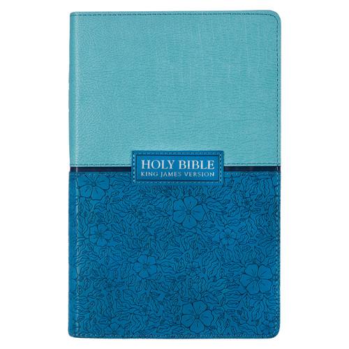Blue KJV Bible Giant Print