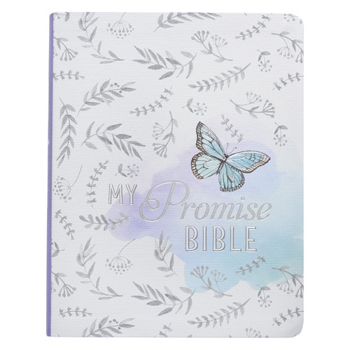 Silky Butterfly My Promise Bible - KJV Journaling Bible