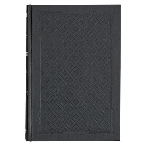 Black Hardcover Large Print KJV Study Bible