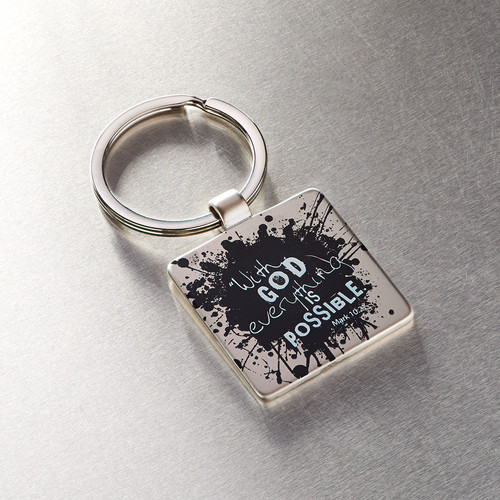 Everything is Possible Metal Keyring