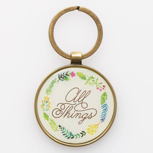 Keyring in Tin: All Things - Matthew 19:26