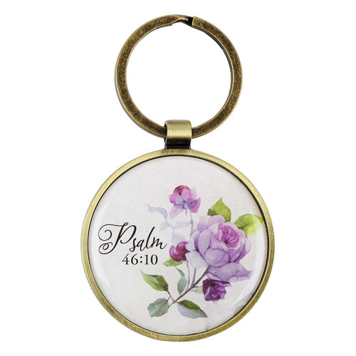 Be Still and Know Keyring in a Tin - Psalm 46:10