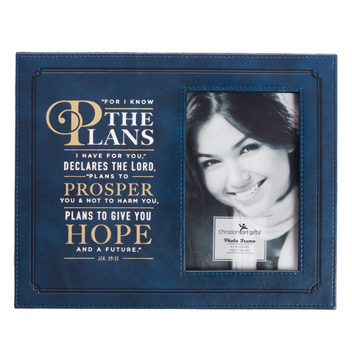 For I Know the Plans - Jeremiah 29:11 Photo frame
