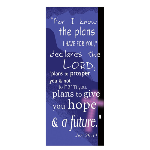 For I Know the Plans Magnetic Bookmark