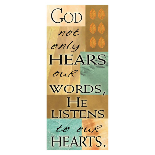 God Not Only Hears Magnetic Bookmark
