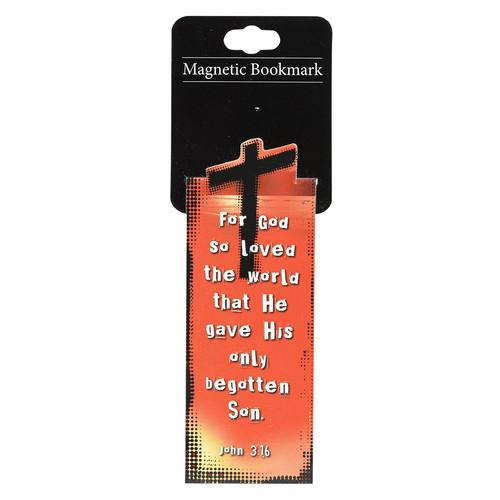 John 3:16 Magnetic Bookmark