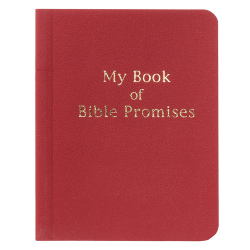Red My Book of Bible Promises
