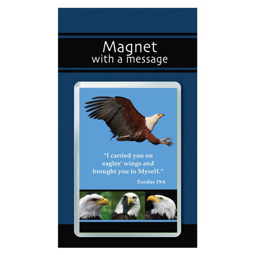 Magnet with a Message: Eagles wings - Exodus 19:4