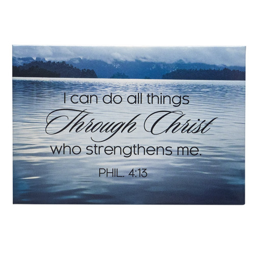 I Can Do All Things Magnet - Philippians 4:13