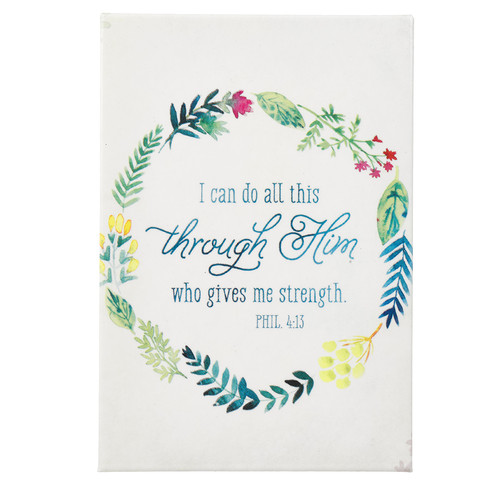 I Can Do All This Watercolor Collection Magnet - Philippians 4:13