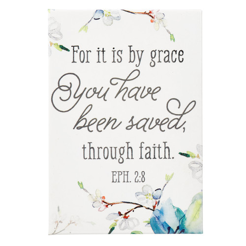 Saved By Grace Magnet - Ephesians 2:8