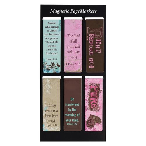 Grace Magnetic Bookmark Set