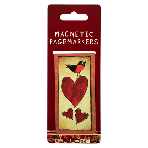 My Heart Rejoices in the Lord Large Magnetic Pagemarker