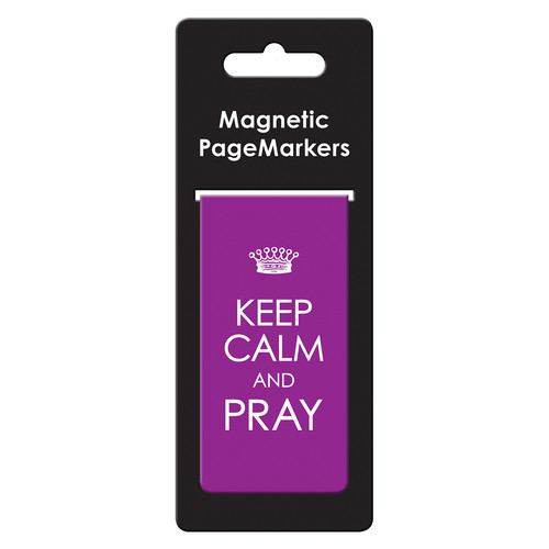 Keep Calm & Pray Large Magnetic Pagemarker